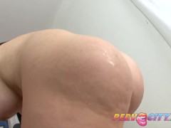 PervCity Blonde Anal Slut Alexis Ford Gives Rimjob