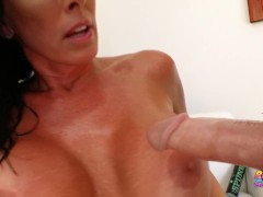 PervCity MILF Reagan Foxx creampied by younger guy Oliver Flynn